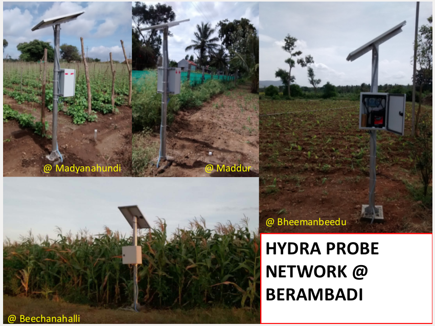 Hydra probe network